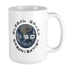 Global Space Organization Logo Mug