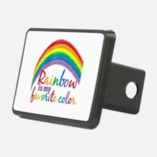 Rainbow Favorite Color Hitch Cover