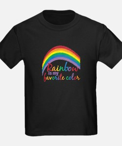 Rainbow Favorite Color T