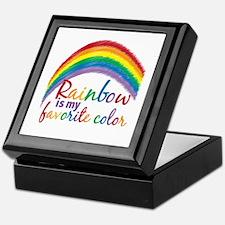 Rainbow Favorite Color Keepsake Box