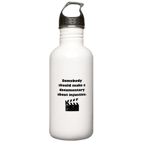 Documentary Injustice Stainless Water Bottle 1.0L