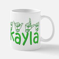 Mikayla in ASL Mug