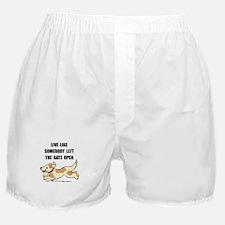 Dog Gate Open Boxer Shorts