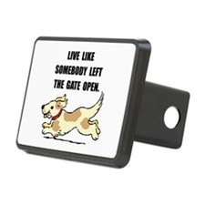 Dog Gate Open Hitch Cover