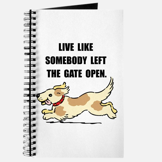 Dog Gate Open Journal