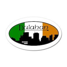 Dulahan - Daytons Own 35x21 Oval Wall Decal