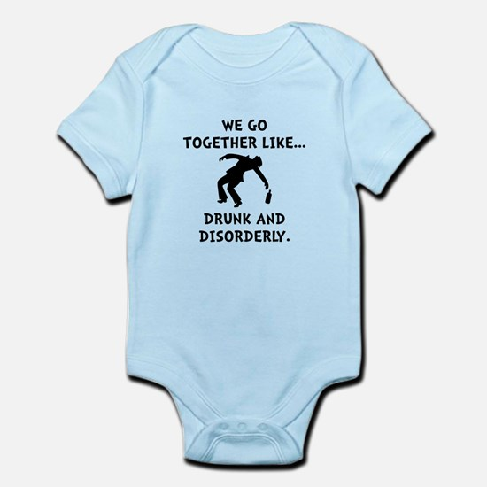 Drunk And Disorderly Infant Bodysuit