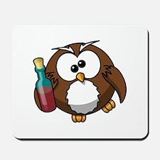 Drunk Owl Mousepad