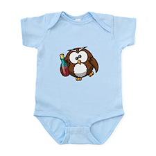 Drunk Owl Infant Bodysuit