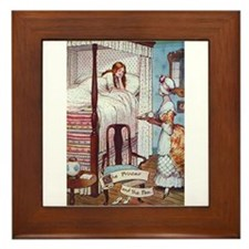 The Princess and the Pea Framed Tile