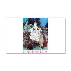 Cinderella Car Magnet 20 x 12