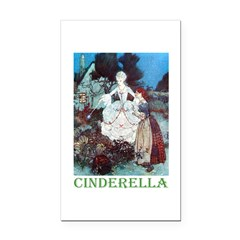 Cinderella Rectangle Car Magnet