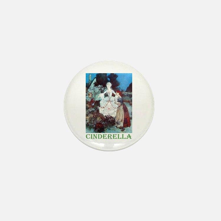 Cinderella Mini Button