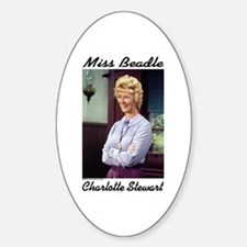 Miss B sig. (color) Oval Decal