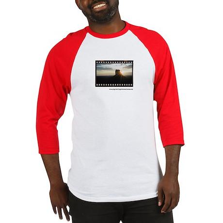 Monument Valley Sunrise Framed Baseball Jersey