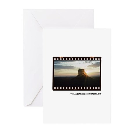 Monument Valley Sunrise Greeting Cards (Pk of 20)