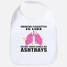 Ashtray Lungs Bib