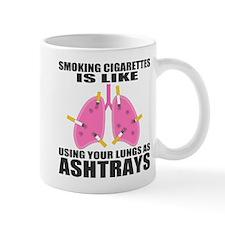 Ashtray Lungs Mug