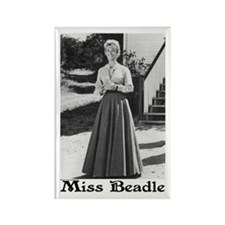 Miss Beadle (full length) Rectangle Magnet