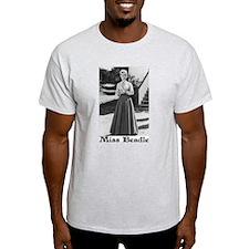 Miss Beadle (full length) Ash Grey T-Shirt