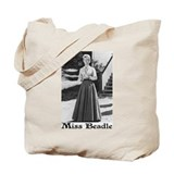 Miss beadle Canvas Bags