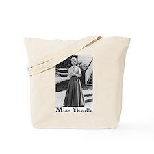 Miss Beadle (full length) Tote Bag