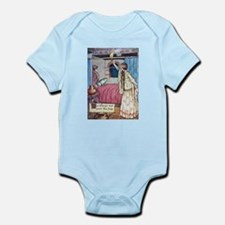 The Vikings Wife and the Frog Infant Bodysuit