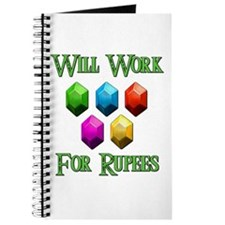 Will Work For Rupees Journal