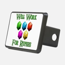 Will Work For Rupees Hitch Cover