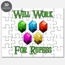 Will Work For Rupees Puzzle