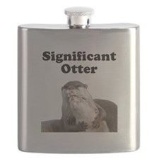 Significant Otter Black.png Flask