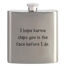 Karma Slap Black.png Flask