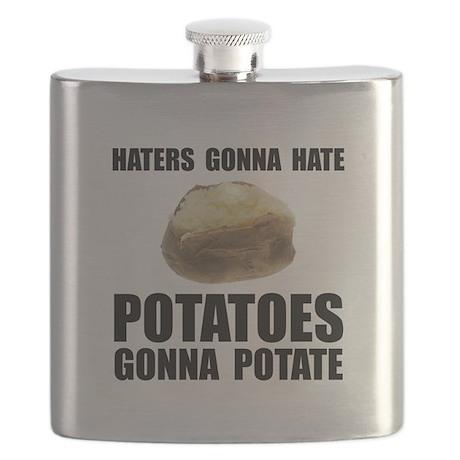 Potatoes Potate Black.png Flask