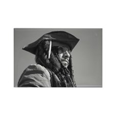 Captain Jack Sparrow Rectangle Magnet