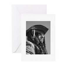 Captain Jack Sparrow Greeting Cards (Pk of 10)