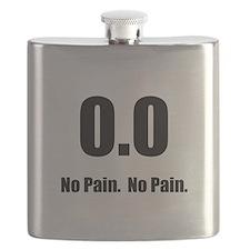 No Pain Black.png Flask