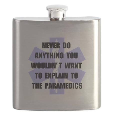 Paramedics Black.png Flask