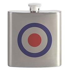 RAF Roundel Blue.png Flask