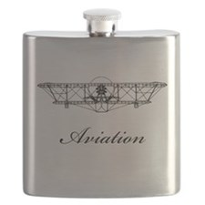 Wright Aviation Black.png Flask