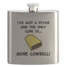More Cowbell Fever Black.png Flask