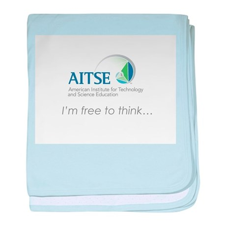 AITSE Free to Think baby blanket