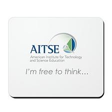 AITSE Free to Think Mousepad