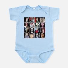 Creepy Mannequins Infant Bodysuit