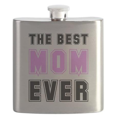 Best Mom Ever Black.png Flask