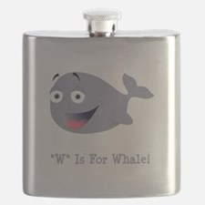 W Is For Whale Grey.png Flask