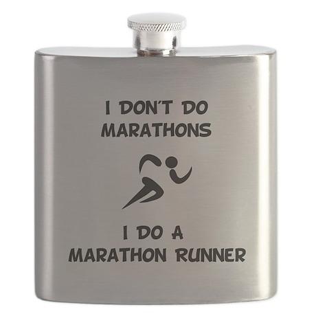 Do Marathon Runner Black.png Flask