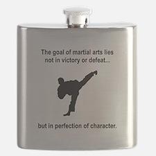 Martial Arts Character Black.png Flask