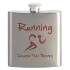 Running Therapy Red.png Flask