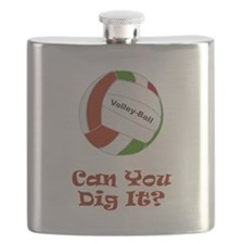 Dig It Vball Red.png Flask