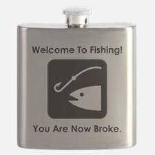 Welcome To Fishing! Flask